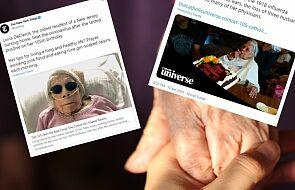 105-letnia kobieta wyzdrowiała z Covid-19. Pomogła jej wiara i odrobina ginu