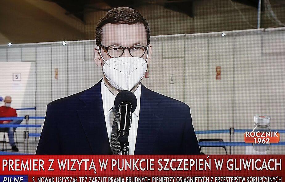 Premier: Narodowy Program Szczepień rozkręca się, do Polski przyjeżdża coraz więcej szczepionek