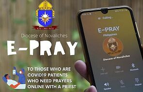 Powstała aplikacja, która umożliwi kontakt chorych na COVID z duchownymi