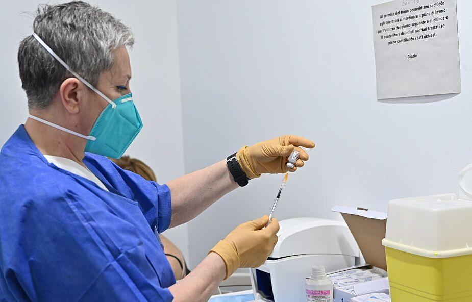 W. Brytania: ponad 40 mln podanych szczepionek, ponad 8 mln osób dostało obie dawki