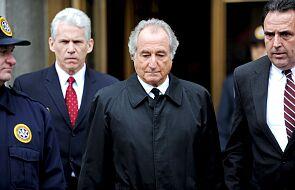 Bernie Madoff, finansista skazany za kolosalne oszustwa, zmarł w więzieniu