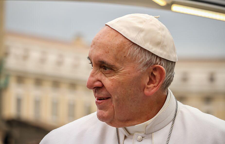 Franciszek zaapelował o unikanie wzrostu napięcia na Ukrainie