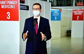 """Konferencja premiera: """"rozpędzamy program szczepień"""""""
