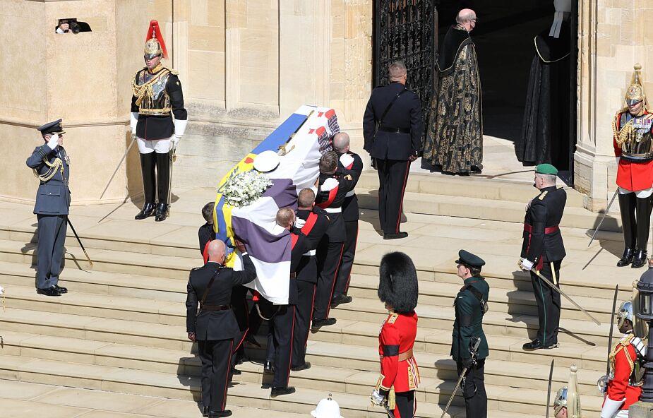 Modlitwa za księcia Filipa w Rzymie