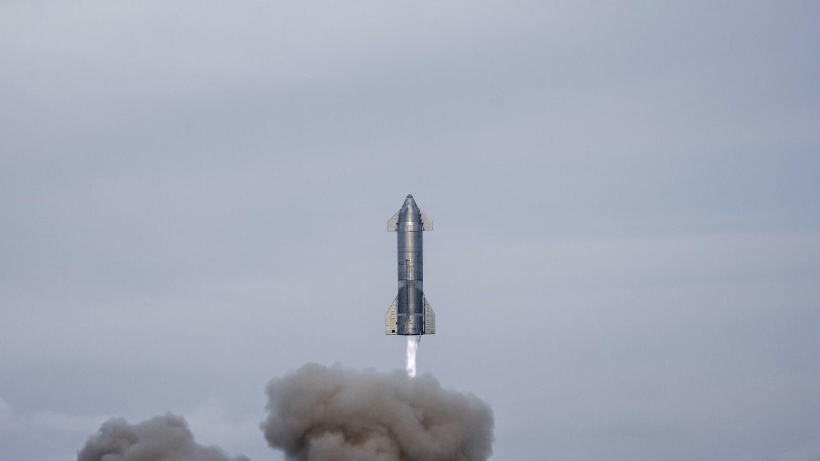 Jeden z prototypów Starshipa / fot. SpaceX / flickr.com