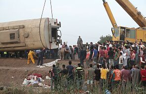 Tragiczny bilans katastrofy kolejowej w Egipcie