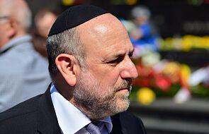 Naczelny rabin Polski: trzeba mówić prawdę o powstaniu w getcie warszawskim