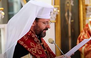 Abp Szewczuk podziękował papieżowi za jego głos w sprawie Ukrainy