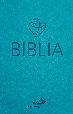 Biblia Tabor turkusowa flexy