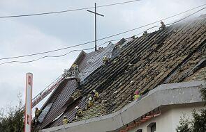 Zapalił się dach kościoła w Białymstoku