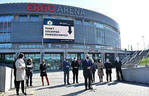 W hali Ergo Arena ruszył punkt szczepień powszechnych
