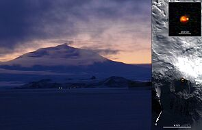 Rośnie aktywność tajemniczego wulkanu na Antarktydzie