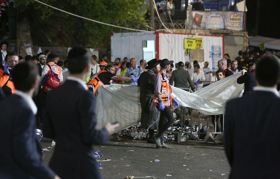 Izrael. Tragedia podczas żydowskiego święta. Dziesiątki zabitych