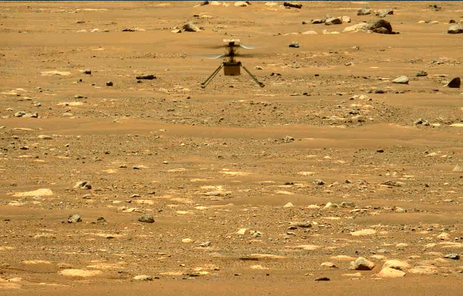 Marsjański helikopter miał dzisiaj wykonać kolejny lot, ale coś poszło nie tak