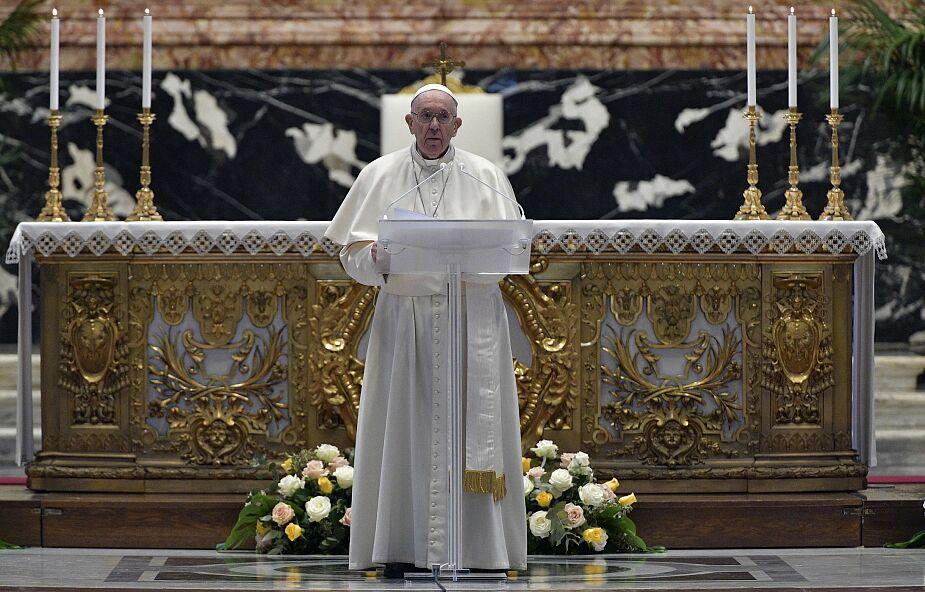 Papież Franciszek: Zmartwychwstały Chrystus jest nadzieją dla tych, którzy cierpią