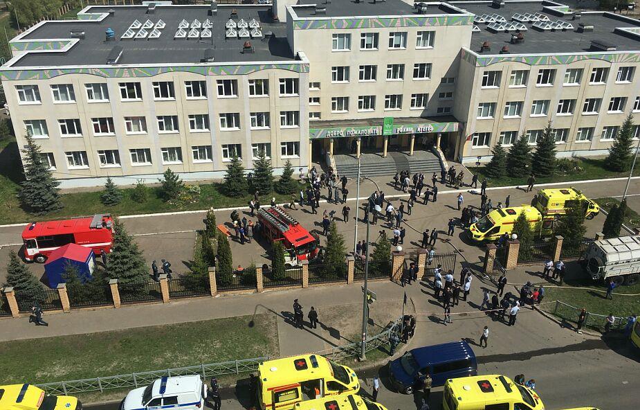 Władze Tatarstanu: sprawca strzelaniny w Kazaniu działał sam
