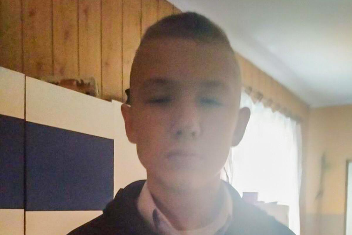 Zaginiony Marek Gawryszak - 15 lat. Zdj.: https://lubuska.policja.gov.pl/