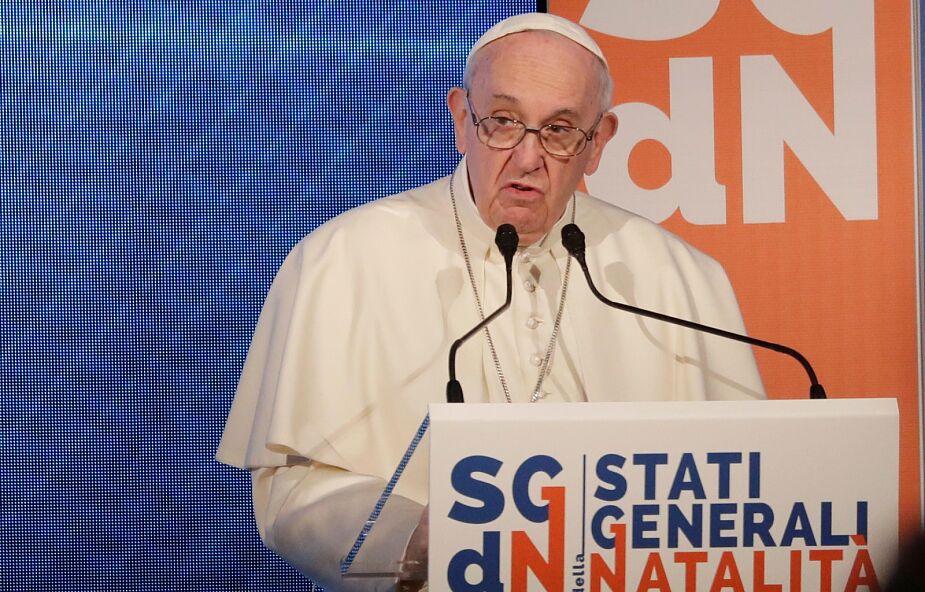 Franciszek: bez przyrostu naturalnego nie ma przyszłości