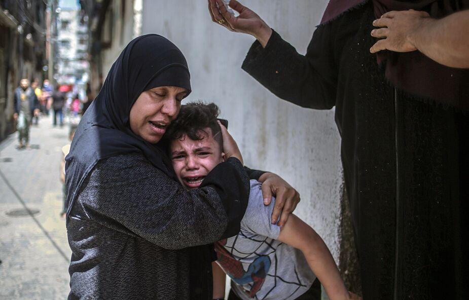 """Bp Marcuzzo: """"Bomby w Gazie spadają też na domy chrześcijańskie, reakcja Izraela nieproporcjonalna"""""""