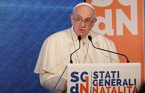 """Papież nazwał pedofilię """"psychologicznym zabójstwem"""""""