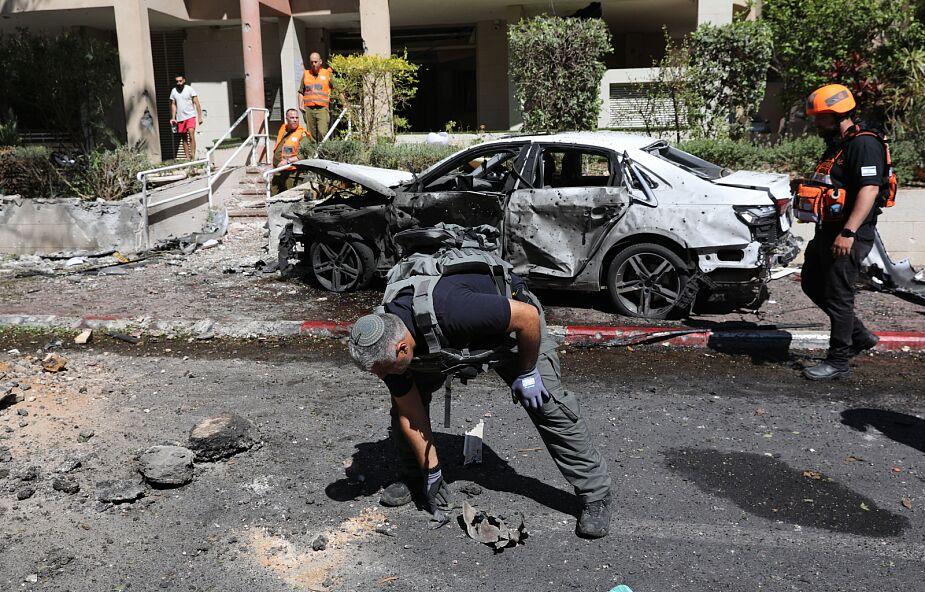 Izrael: w kolejnym ataku rakietowym z Gazy zginął mężczyzna w Ramat Gan