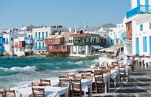 Na greckie wyspy przybyli pierwsi zagraniczni turyści