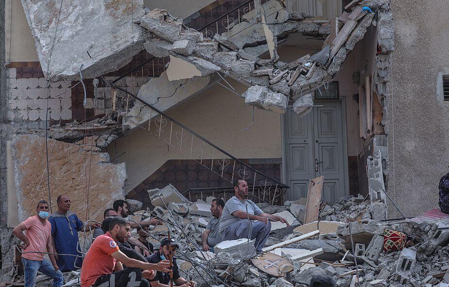 Trwają ataki na Strefę Gazy. Ofiarami pada głównie ludność cywilna