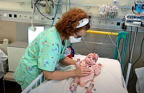 Pierwszy raz udało się przeszczepić serce u niemowlęcia. Dziewczynka wraca do zdrowia