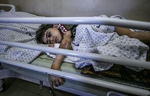 Strefa Gazy: jest bardzo źle. Caritas apeluje o pomoc medyczną
