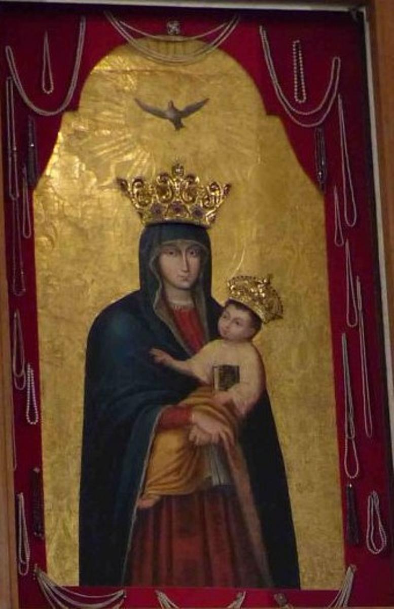 Obraz Matki Bożej Pocieszenia we Wrocławiu