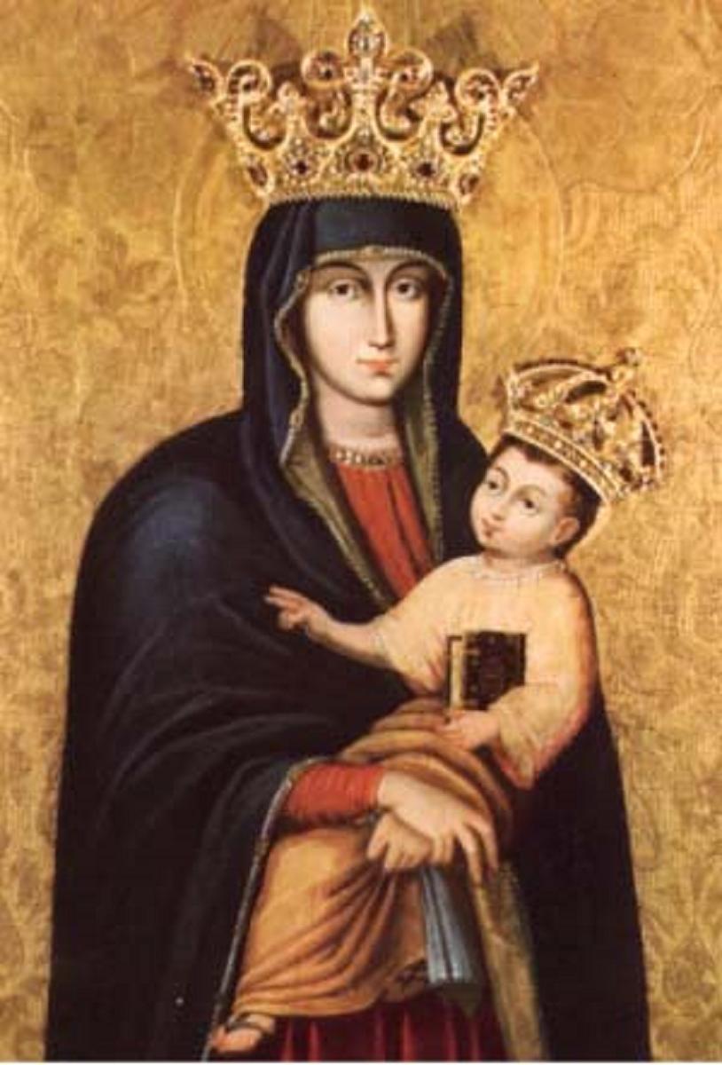 Cudowny obraz Matki Bożej Pocieszenia, przed którym ogłoszono Maryję Królową Polski