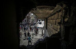 WHO apeluje o przerwę humanitarną, by dotrzeć do Strefy Gazy