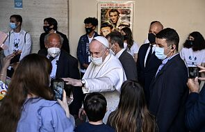 Papież odwiedził siedzibę Scholas Occurentes w Rzymie