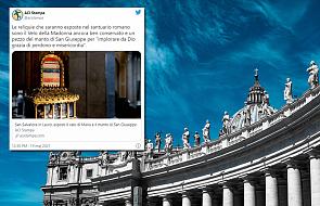 Są bardzo rzadko pokazywane. W Rzymie zaprezentowano niezwykłe relikwie
