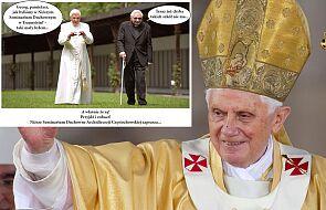 Polskie seminarium stworzyło mema z Benedyktem XVI. Zobacz, czy spodobał się papieżowi-seniorowi