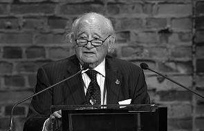 Zmarł Roman Kent. Przewodniczący Komitetu Oświęcimskiego