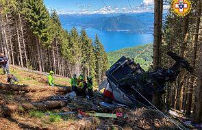 Włochy: runęła kolejka górska, 14 ofiar katastrofy