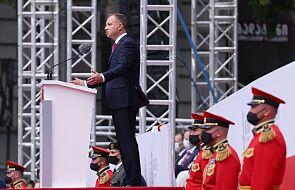 """Prezydent Duda: """"Rosja nie jest normalnym krajem"""""""