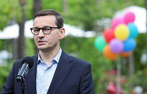 """Premier Morawiecki: nie jest przesądzone, że będziemy """"gwałtownie"""" znosić obostrzenia"""