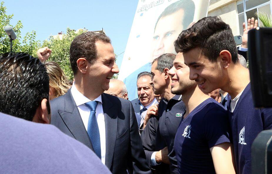Syria wybrała prezydenta na kolejną kadencję