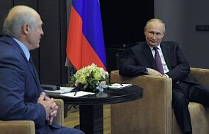 Białoruskie media o spotkaniu Łukaszenka-Putin: ważne i świadczące o bliskich i dobrych relacjach