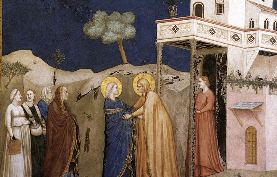 Tajemnicze spotkanie - nawiedzenie św. Elżbiety