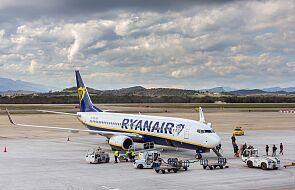 Kolejne awaryjne lądowanie samolotu Ryanaira. Media: zgłoszono zagrożenie bombowe