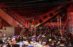 Zawalił się wiadukt kolejowy w Meksyku, co najmniej 15 ofiar śmiertelnych