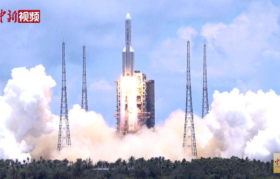 Fragment chińskiej rakiety spadnie gdzieś na Ziemię, ale nie wiemy gdzie i kiedy