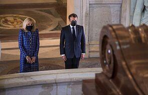 Francja: Macron upamiętnił 200. rocznicę śmierci Napoleona