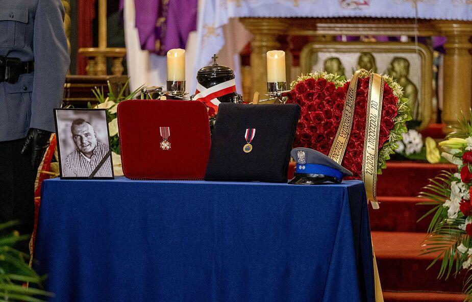 W Raciborzu pochowano zastrzelonego policjanta mł. asp. Michała Kędzierskiego
