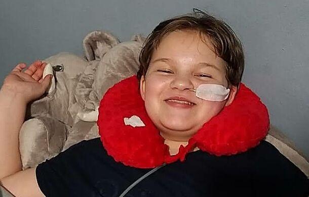 Prawdziwa wojowniczka. Ma 11 lat i 11 operacji za sobą