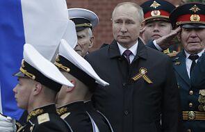 Putin na defiladzie w Moskwie: Rosja będzie twardo bronić swoich interesów