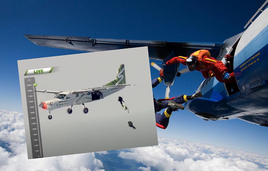 Wyskoczył z samolotu bez spadochronu i bezpiecznie wylądował [WIDEO]